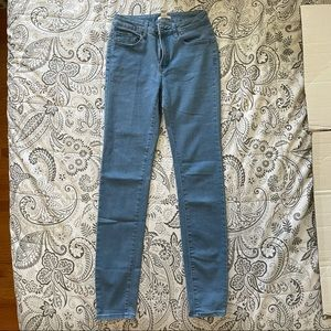 Forever 21 High Waisted Skinny Jeans Size 26